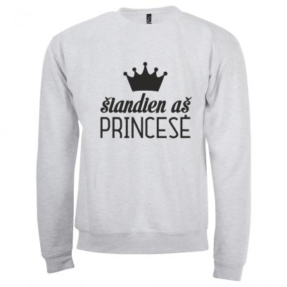 """Džemperis """"Šiandien aš princesė"""""""