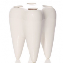 Originalus danties formos dantų šepetėlių laikiklis
