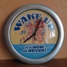 """Laikrodis """"Wake UP"""""""