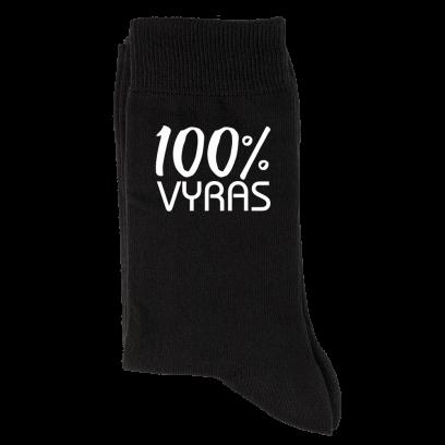 """Kojinės """"100% vyras"""""""