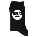 """Kojinės """"Bosas su ūsais"""""""