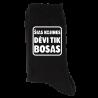 """Kojinės """"Šias kojines dėvi tik bosas"""""""