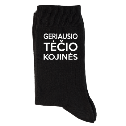 """Kojinės """"Geriausio Tėčio kojinės"""""""