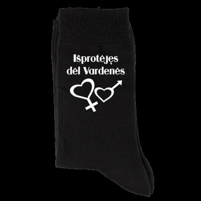 """Vardinės kojinės """"Išprotėjęs dėl..."""""""