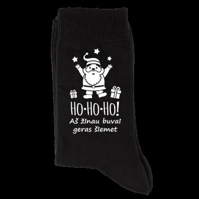 """Kojinės """"Ho Ho Ho"""""""