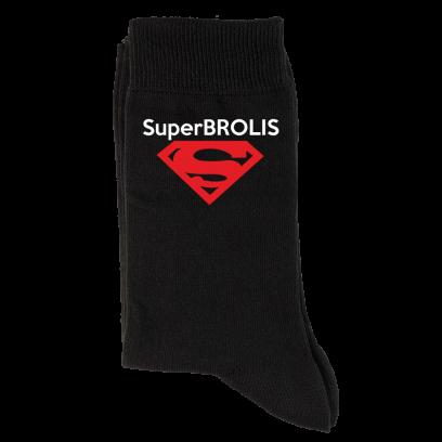 "Kojinės ""Super Brolis"""