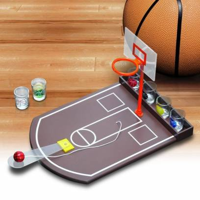 Gėrimų žaidimas - krepšinis
