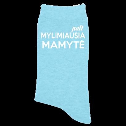 """Kojinės """"Pati mylimiausia Mamytė"""""""