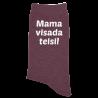 """Kojinės """"Mama visada teisi"""""""