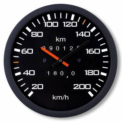 Laikrodis - Spidometras
