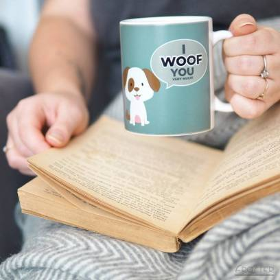Magiškas puodelis šunų mylėtojui