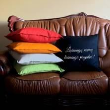 """Pagalvė – """"Laimingų namų laiminga pagalvė"""""""