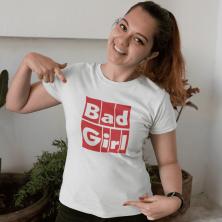 """Marškinėliai """"Bad Girl"""""""