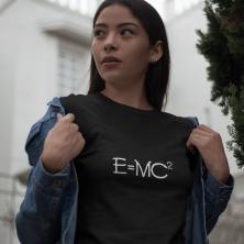 """Marškinėliai """"e lygu mc"""""""