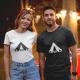 """Marškinėliai """"Camp romance"""""""