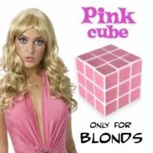 Rubikas kubikas - dovana blondinėms
