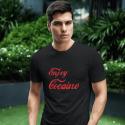 """Marškinėliai """"Enjoy cocaine"""""""