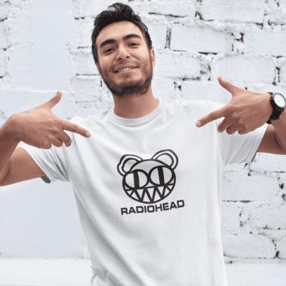 """Marškinėliai """"Radiohead"""""""