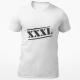 "Marškinėliai ""XXXL"""