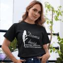 """Marškinėliai """"Dama bosė"""""""