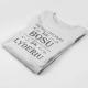 """Marškinėliai """"Vienas dalykas būti bosu"""""""