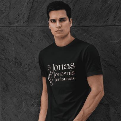 """Marškinėliai """"Jonas Jonesnis Joniausias"""""""