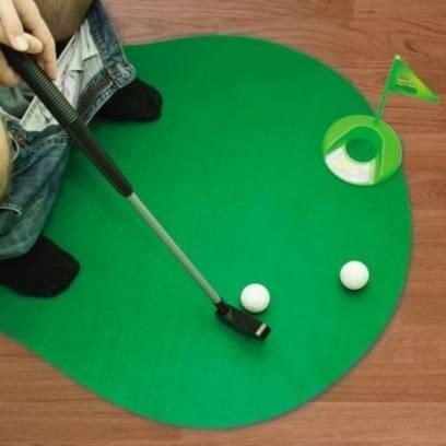 Mini golfas - tualeto kilimėlis
