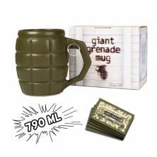 """Gigantiškas puodelis """"granata"""""""