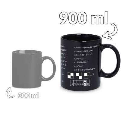 Gigantiškas genijaus puodelis (900ml)